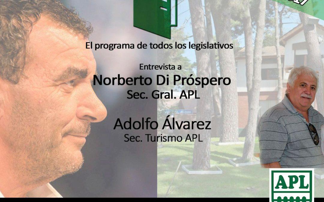 Norberto Di Próspero en APL Puertas Abiertas
