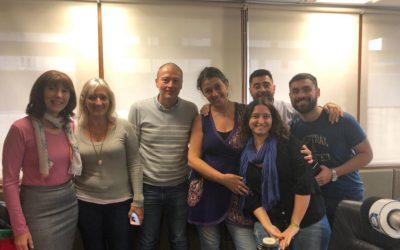 Puertas Abiertas en Radio Concepto, informó sobre talleres de APL, la DAS y entrevistó al Sec. de Prensa F. Gonzalez.