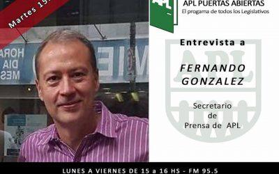 """Intensa semana en """"Puertas Abiertas"""" con las visitas de Fernando González y profesionales de la DAS"""