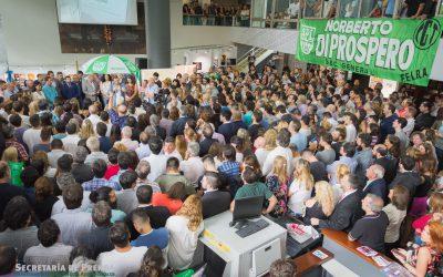 DI Próspero anunció que pedirá la reapertura de paritarias y pidió a los trabajadores mantener la unidad.