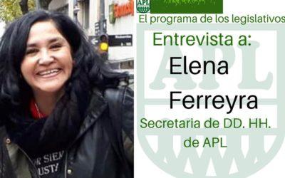 «Puertas Abiertas» recibió a Elena Ferreyra, informó la actividad de la DAS y repasó la actualidad legislativa.