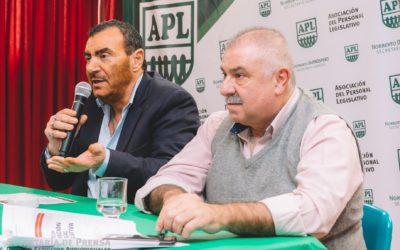 Felipe Sanz informó sobre los cursos de formación Sindical en la visita que realizó a «Puertas Abiertas» en la BCN Radio