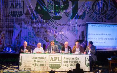 APL APROBO EN ASAMBLEA, POR UNANIMIDAD, LA MEMORIA Y BALANCE 2016-2017