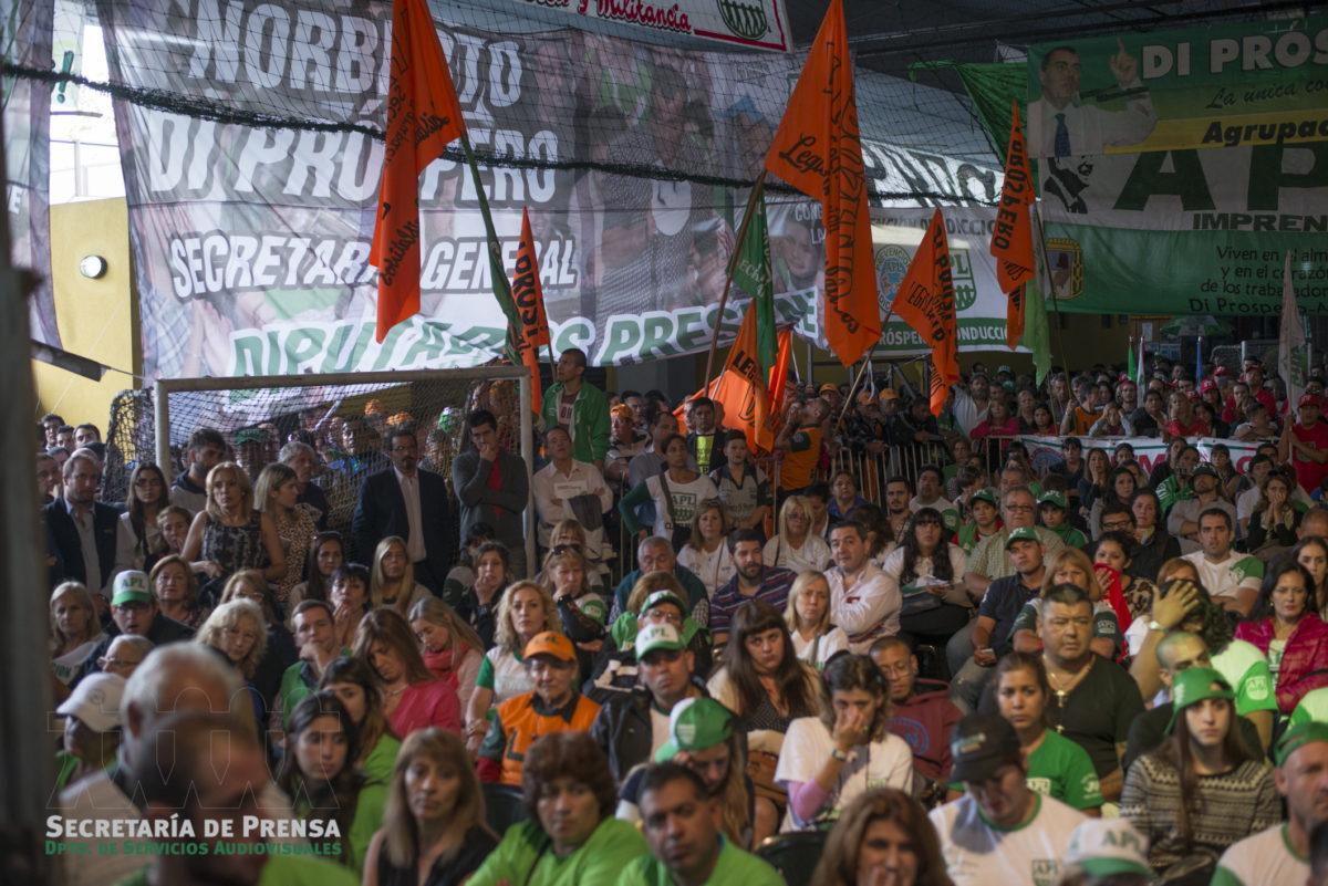 Multitudinaria Asamblea de los Trabajadores Legislativos