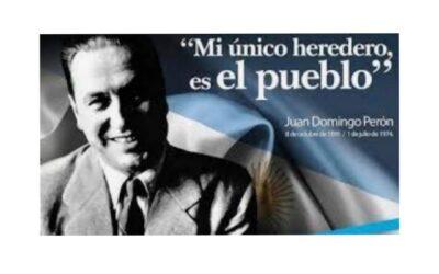 1 de Julio de 1974. Aniversario de la muerte de Juan D. Perón