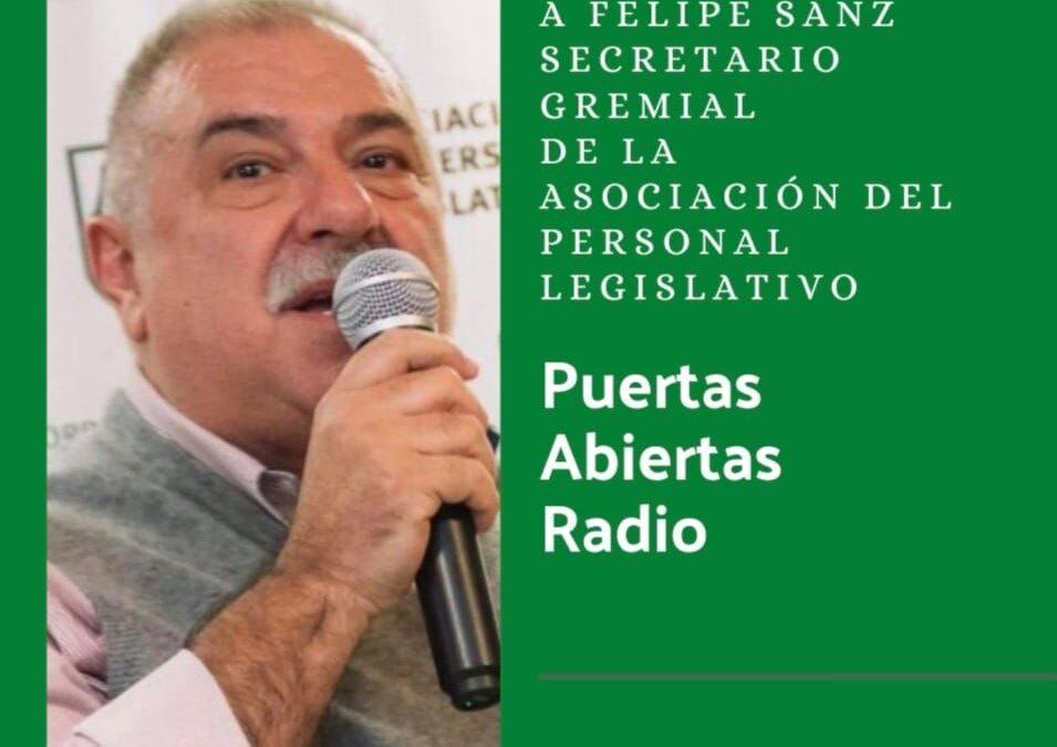 Mantener el vínculo con lxs afiliadxs, el objetivo de APL durante la pandemia, dijo Felipe Sanz.
