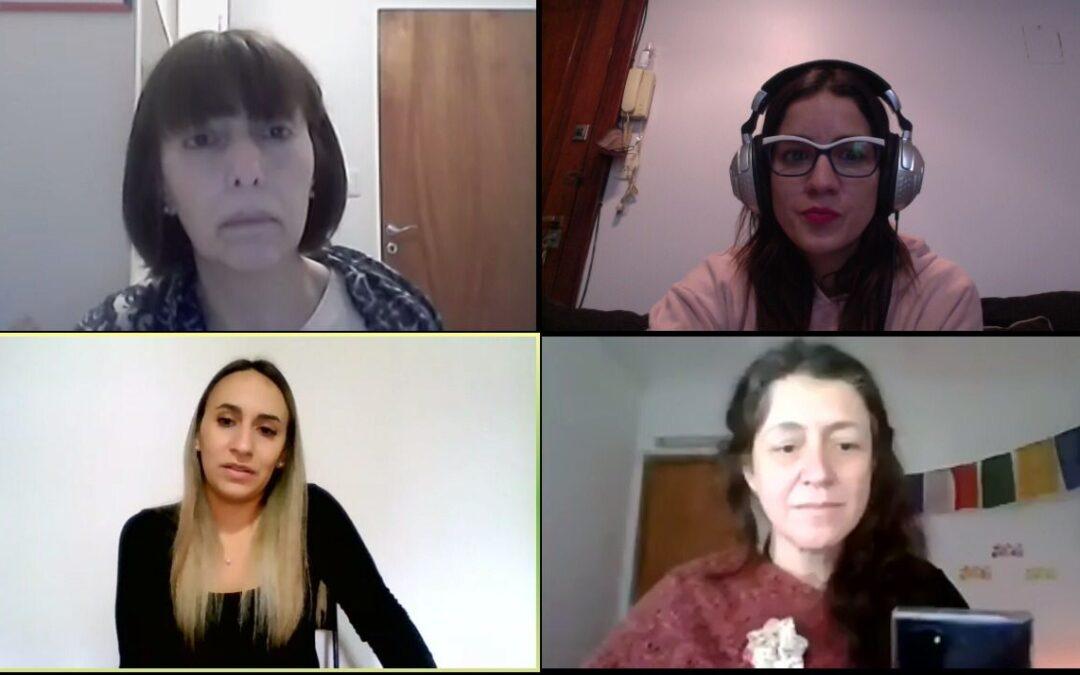 Entrevista a Daniela Menéndez, intérprete en lenguas de señas argentinas.