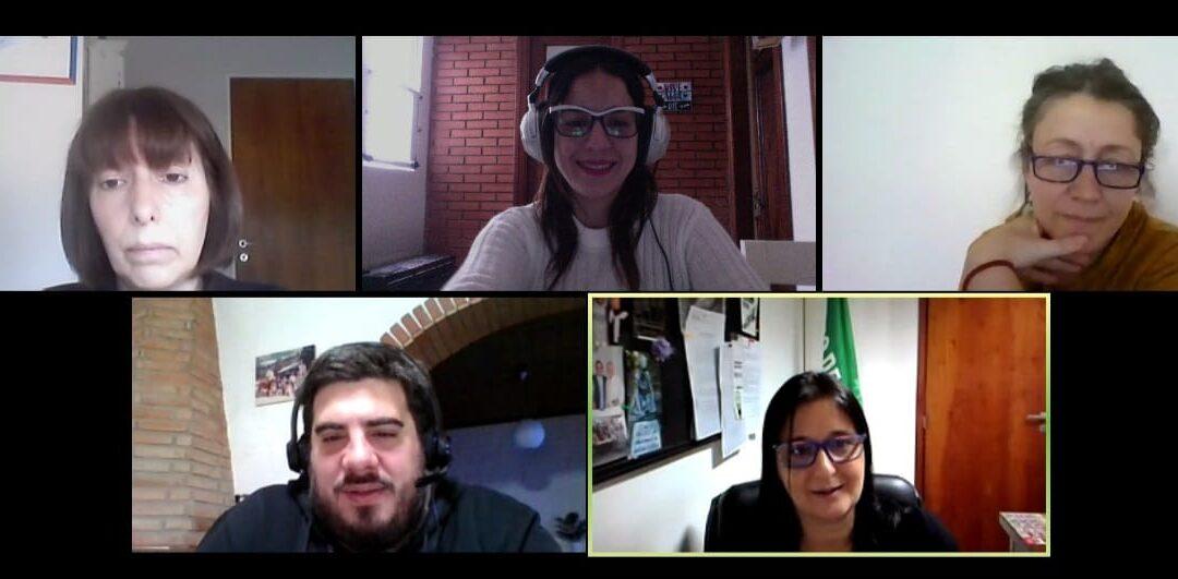 Mariana Obón contó a Puertas Abiertas el éxito de la comisión de discapacidad con el zoom y las redes sociales durante la pandemia.