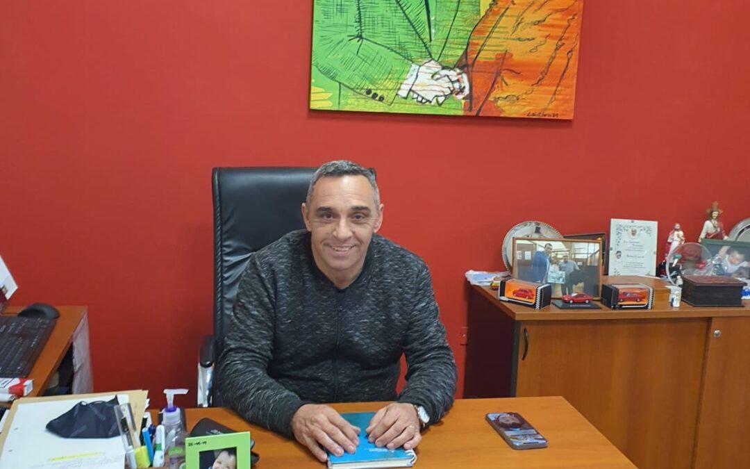 Fabián Zaccardi invitó a los afiliados a votar el 25 de noviembre. «La campaña es nuestra gestión», dijo a Puertas Abiertas