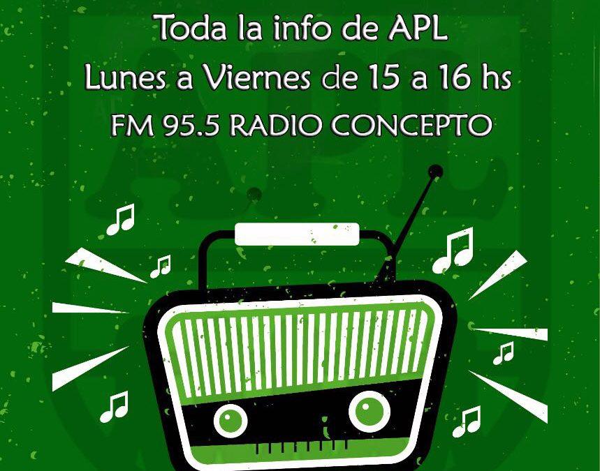 APl Puertas Abiertas en FM Concepto, 95.5