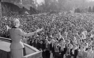7 de Mayo- Aniversario del nacimiento de Eva Perón