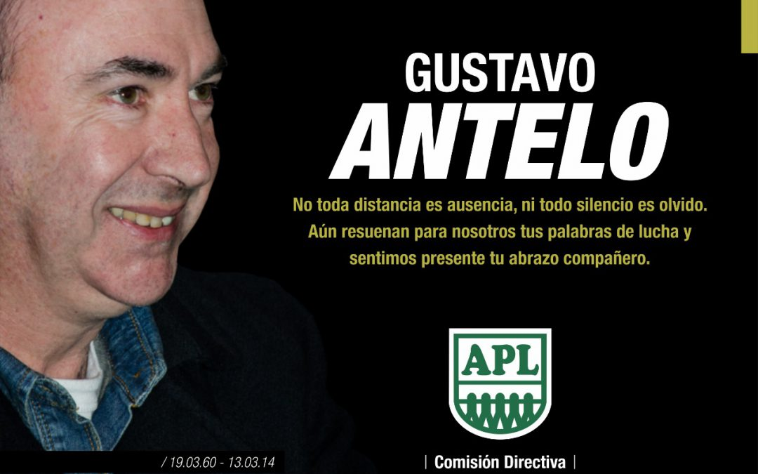 Gustavo Antelo (1960-2014)